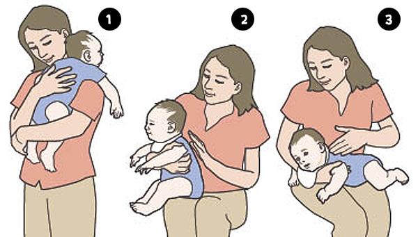 Как малыша держать столбиком